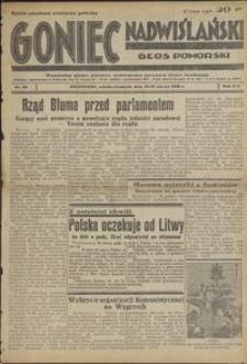 Goniec Nadwiślański : Głos Pomorski : niezależne pismo poranne poświęcone sprawom stanu średniego : 1938.03.19/20, R. 14 nr 65