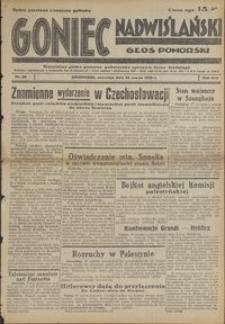 Goniec Nadwiślański : Głos Pomorski : niezależne pismo poranne poświęcone sprawom stanu średniego : 1938.03.24, R. 14 nr 69