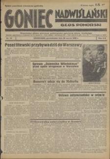 Goniec Nadwiślański : Głos Pomorski : niezaeżne pismo poranne poświęcone sprawom stanu średniego : 1938.03.28, R. 14 nr 72