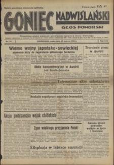 Goniec Nadwiślański : Głos Pomorski : niezależne pismo poranne poświęcone sprawom stanu średniego : 1938.03.30, R. 14 nr 74