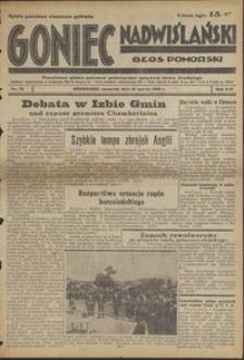 Goniec Nadwislanski : Głos Pomorski : niezależne pismo poranne poświęcone sprawom stanu średniego : 1938.03.31, R. 14 nr 75