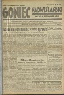 Goniec Nadwiślański : Głos Pomorski : niezależne pismo poranne poświęcone sprawom stanu średniego : 1938.05.04 R. 14 nr 102
