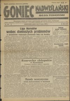 Goniec Nadwiślański : Głos Pomorski : niezależne pismo poranne poświęcone sprawom stanu średniego : 1938.05.06 R. 14 nr 104