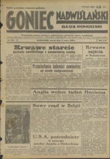 Goniec Nadwiślański : Głos Pomorski : niezależne pismo poranne poświęcone sprawom stanu średniego : 1938.05.17. R. 14, nr 113