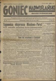 Goniec Nadwiślański : Głos Pomorski : niezależne pismo poranne poświęcone sprawom stanu średniego : 1938.05.20. R. 14, nr 116