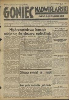 Goniec Nadwiślański : Głos Pomorski : niezależne pismo poranne poświęcone sprawom stanu średniego : 1938.05.27. R. 14, nr 121