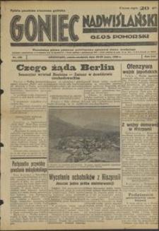 Goniec Nadwiślański : Głos Pomorski : niezależne pismo poranne poświęcone sprawom stanu średniego : 1938.05.28-29. R. 14, nr 122