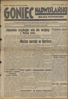 Goniec Nadwiślański : Głos Pomorski : niezależne pismo poranne poświęcone sprawom stanu średniego : 1938.05.31. R. 14, nr 124