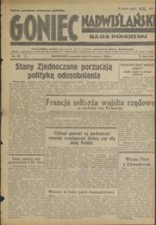 Goniec Nadwiślański : Głos Pomorski : niezależne pismo poranne poświęcone sprawom stanu średniego : 1938.06.09. R. 14, nr 131