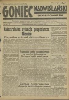 Goniec Nadwiślański : Głos Pomorski : niezależne pismo poranne poświęcone sprawom stanu średniego : 1938.08.17 R. 14 nr 187