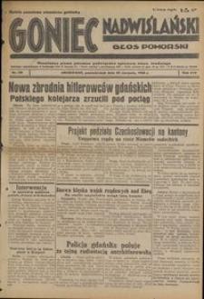 Goniec Nadwiślański : Głos Pomorski : niezależne pismo poranne poświęcone sprawom stanu średniego : 1938.08.22, R. 14 nr 191