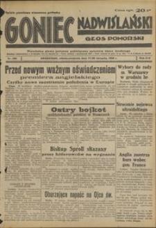 Goniec Nadwiślański : Głos Pomorski : niezależne pismo poranne poświęcone sprawom stanu średniego : 1938.08.27/28, R. 14 nr 196