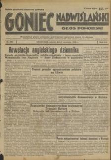Goniec Nadwiślański : Głos Pomorski : niezależne pismo poranne poświęcone sprawom stanu średniego : 1938.09.06, R. 14 nr 204