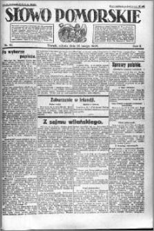 Słowo Pomorskie 1922.02.18 R.2 nr 41