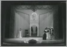 """[Molier """"Lekarz mimo woli"""", 29 luty 1952 roku,Teatr Wilama Horzycy w Toruniu]"""