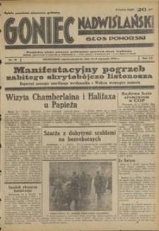 Goniec Nadwiślański : Głos Pomorski : niezależne pismo poranne poświęcone sprawom stanu średniego : 1939.01.14/15, R. 15 nr 12