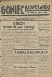 Goniec Nadwiślański : Głos Pomorski : niezależne pismo poranne poświęcone sprawom stanu średniego : 1939.01.26, R. 15 nr 22