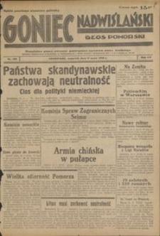 Goniec Nadwiślański : Głos Pomorski : niezależne pismo poranne poświęcone sprawom stanu średniego : 1939.05.11, R. 15 nr 109