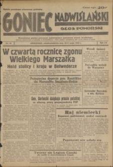 Goniec Nadwiślański : Głos Pomorski : niezależne pismo poranne poświęcone sprawom stanu średniego : 1939.05.13/14, R. 15 nr 111