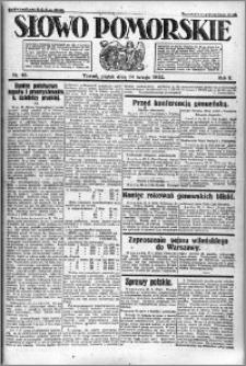 Słowo Pomorskie 1922.02.24 R.2 nr 46