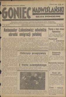 Goniec Nadwiślański : Głos Pomorski : niezależne pismo poranne poświęcone sprawom stanu średniego : 1939.05.123, R.15 nr 123