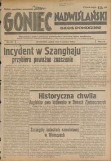 Goniec Nadwiślański : Głos Pomorski : niezależne pismo poranne poświęcone sprawom stanu średniego : 1939.06.09, R. 15 nr 131