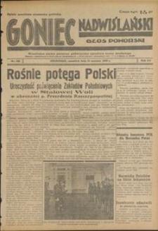 Goniec Nadwiślański : Głos Pomorski : niezależne pismo poranne poświęcone sprawom stanu średniego : 1939.06.15, R. 15 nr 136