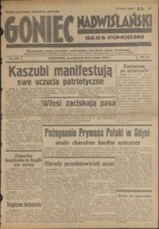 Goniec Nadwiślański : Głos Pomorski : niezaeżne pismo poranne poświęcone sprawom stanu średniego : 1939.07.03, R. 15 nr 150