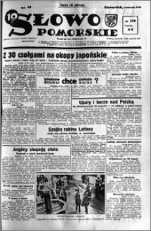 Słowo Pomorskie 1938.08.04 R.18 nr 176