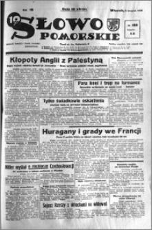 Słowo Pomorskie 1938.08.09 R.18 nr 180