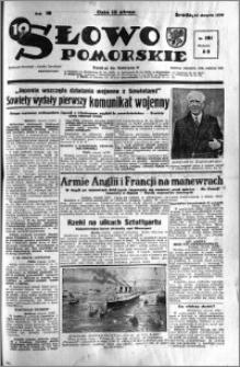 Słowo Pomorskie 1938.08.10 R.18 nr 181