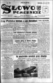 Słowo Pomorskie 1938.08.13 R.18 nr 184