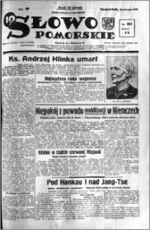 Słowo Pomorskie 1938.08.18 R.18 nr 187