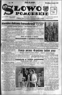 Słowo Pomorskie 1938.08.24 R.18 nr 192