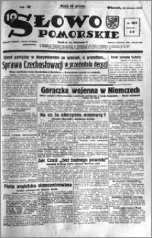Słowo Pomorskie 1938.08.30 R.18 nr 197