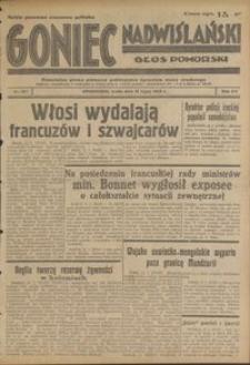 Goniec Nadwiślański : Glos Pomorski : niezależne pismo poranne poświęcone sprawom stanu średniego : 1939.07.12, R. 15 nr 157