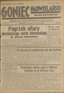 Goniec Nadwiślański : Glos Pomorski : niezależne pismo poranne poświęcone sprawom stanu średniego : 1939.07.24, R. 15 nr 168