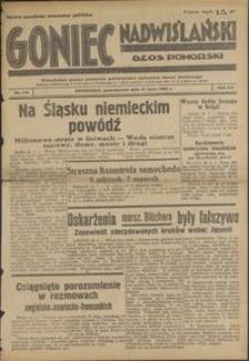 Goniec Nadwiślański : Glos Pomorski : niezależne pismo poranne poświęcone sprawom stanu średniego : 1939.07.31, R. 15 nr 174