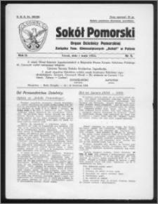 Sokół Pomorski 1933, R. 2, nr 5