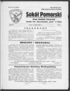 Sokół Pomorski 1934, R. 3, nr 7
