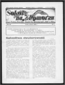 Sokół na Pomorzu 1938, R. 7, nr 3