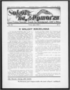 Sokół na Pomorzu 1938, R. 7, nr 7