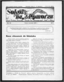 Sokół na Pomorzu 1938, R. 7, nr 9