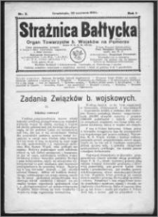 Strażnica Bałtycka 1924, R. 1, nr 2