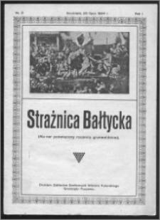 Strażnica Bałtycka 1924, R. 1, nr 3