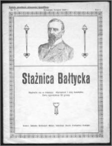 Strażnica Bałtycka 1924, R. 1, nr 7