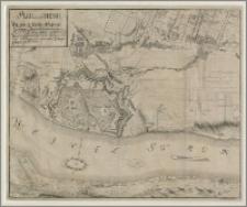 Plan von der Stadt Thorn