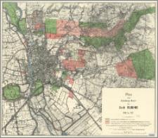 Plan zum Verwaltungs-Bericht der Stadt Elbing 1909 bis 1912