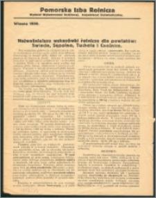 Najważniejsze wskazówki rolnicze dla powiatów Świecie, Sępólno, Tuchola i Chojnice : wiosna 1936
