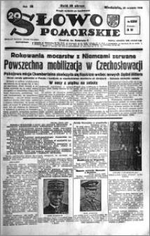 Słowo Pomorskie 1938.09.25 R.18 nr 220